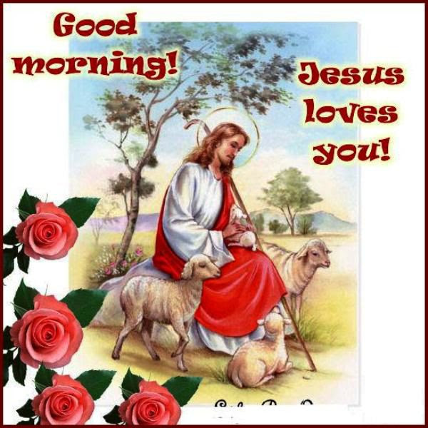 35 Good Morning Jesus Pictures