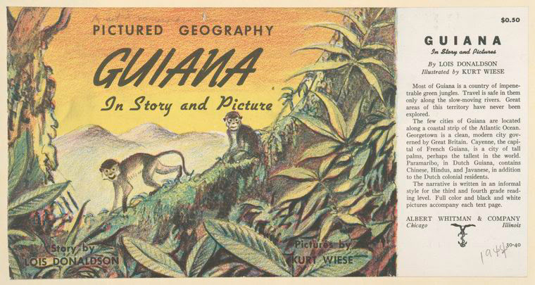 Guiana in story and pictures.