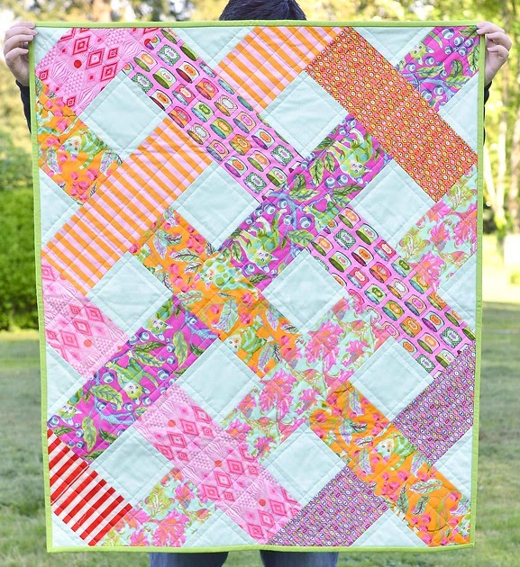 Hand Quilting Patterns For Baby Quilts : The Tabby Road Betty Baby Quilt Kitchen Table Quilting