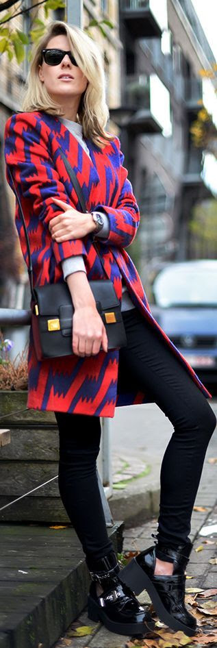 All about a great statement coat!
