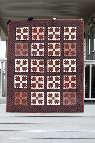 Vintage Bear Claw Quilt by jenib320
