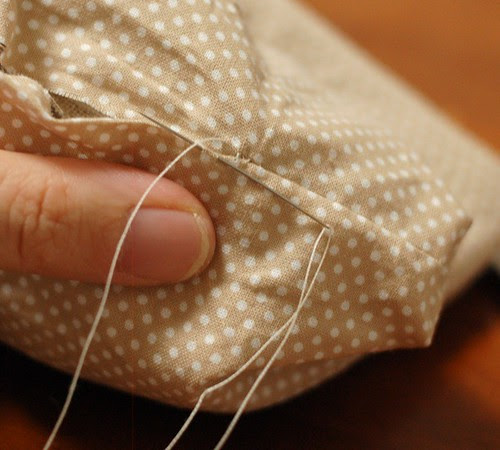 How to make a petit pouch 31