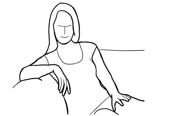 Позирование: позы для женского портрета 2-7