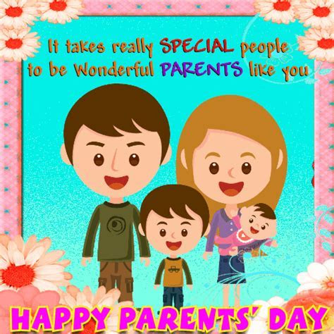 Wonderful Parents? Day Card! Free Parents' Day eCards