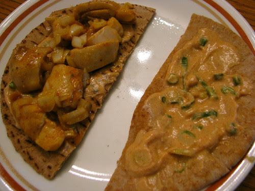 Chili Chicken Pita