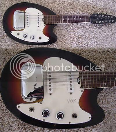 Vox Mando Guitar