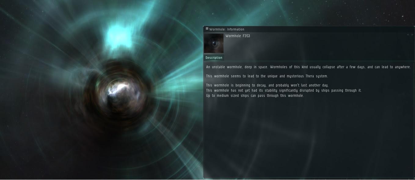 Wormhole w Eve Online