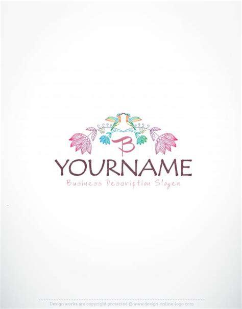 exclusive logos store flower frame logo