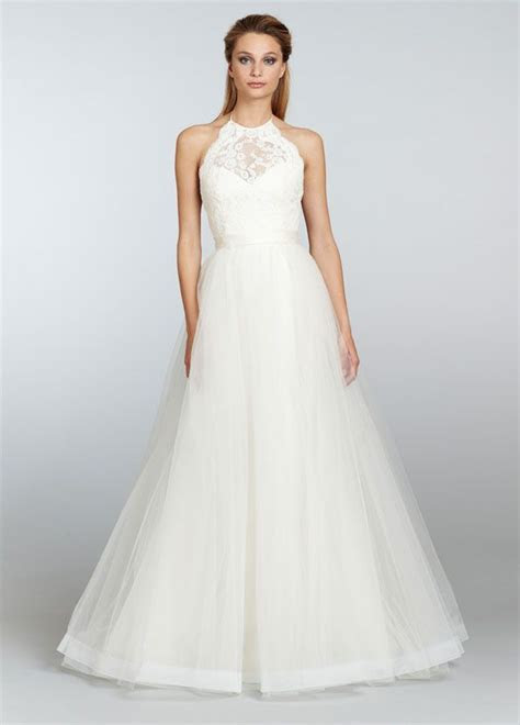 Ivory Mikado organza trumpet bridal gown with full tulle