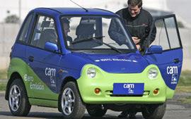 Carro elétrico indiano é lançado no Chile
