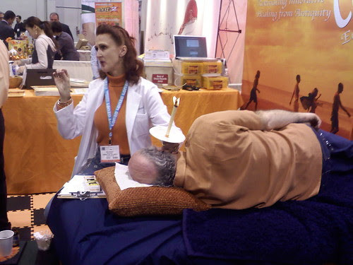 Ear Candling or Coning
