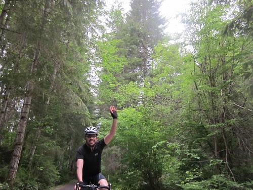 Jeff, waving