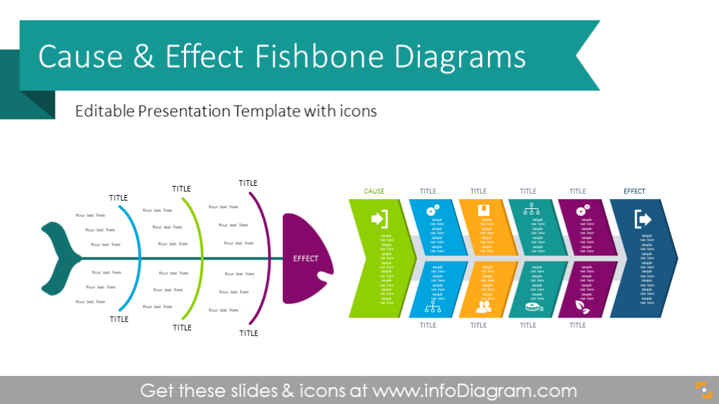 30 Fishbone Diagram Template Powerpoint Free Download