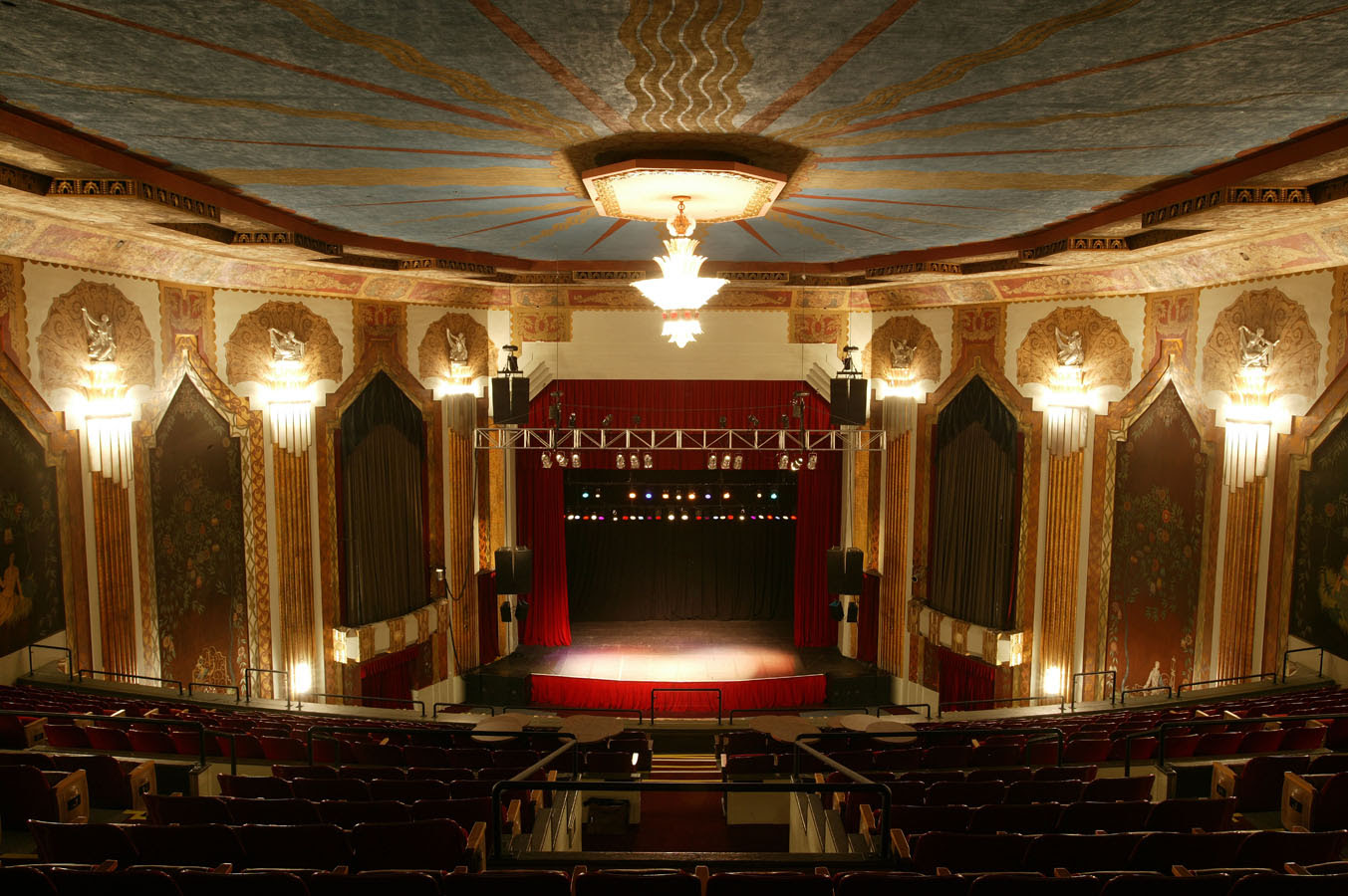 Paramount Theatre Seating Chart Denver