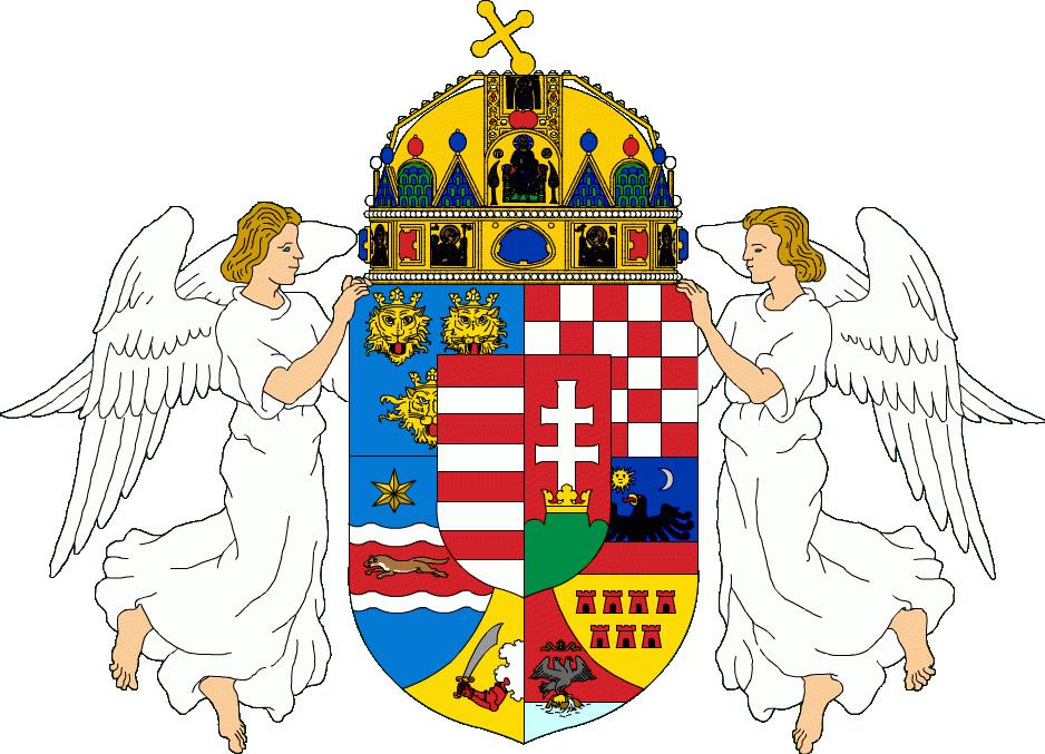 Medium Coat of Arms of Hungary-Croatia