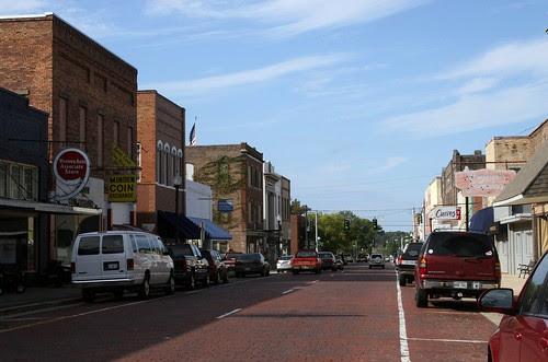 main street, minden