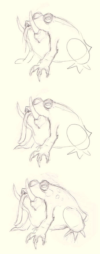 how to draw creature