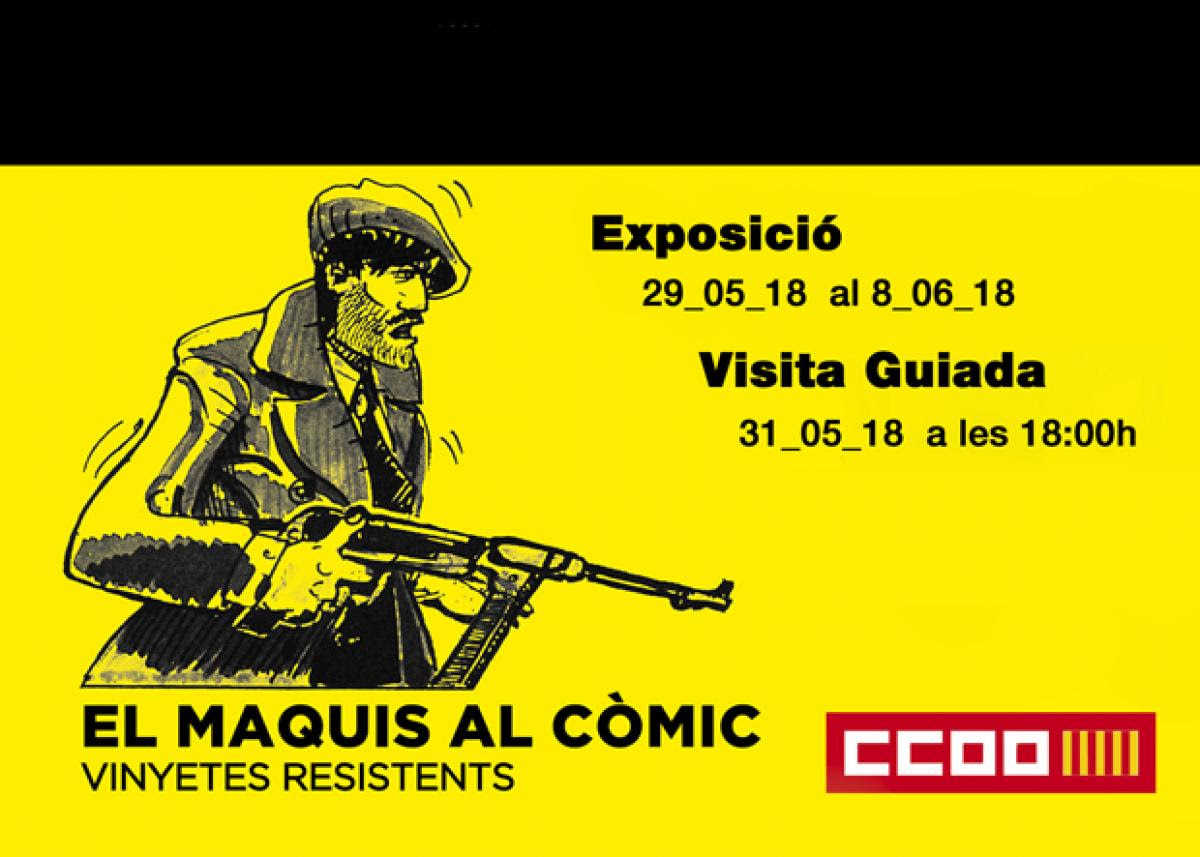 Exposició Els Maquis al Còmic
