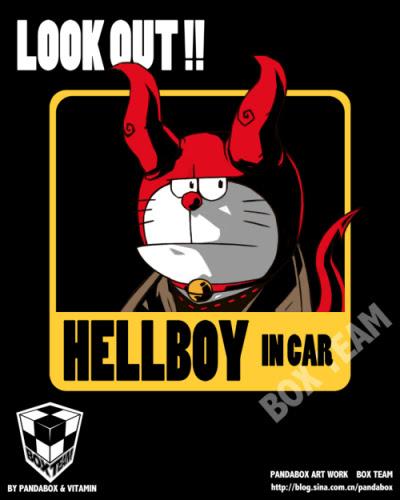 doraemon - hellboy