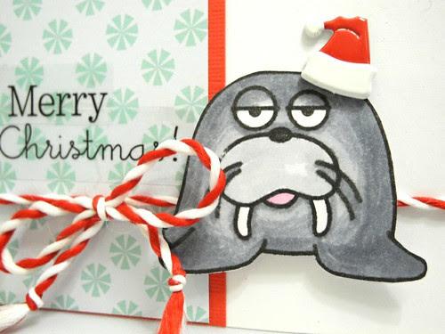 Walrus Santa (detail)