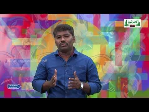 12th Commerce Employee Training Method Kalvi TV