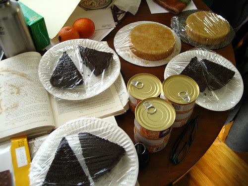 syruped cakes, plus other crap