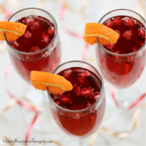 Pomegranate Orange Spritzer