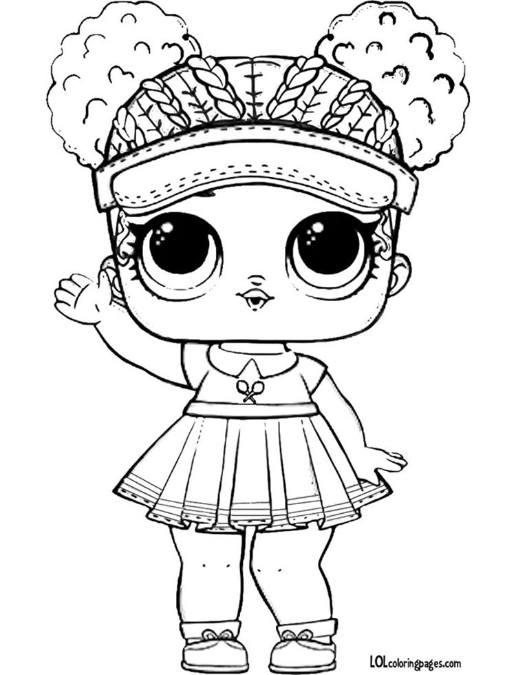 Lol Surprise Coloring Pages At Getdrawingscom Free For Personal
