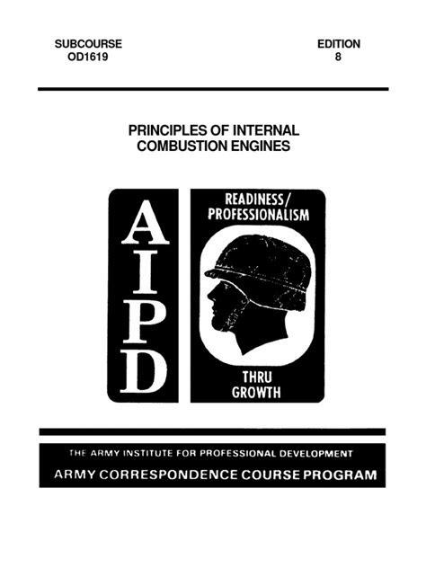Principles of Internal Combustion Engines | Internal