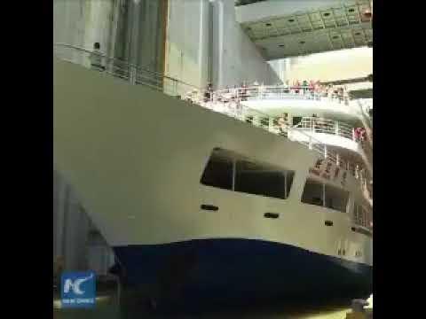 434: Dünyanın En Büyük Gemi Asansörü