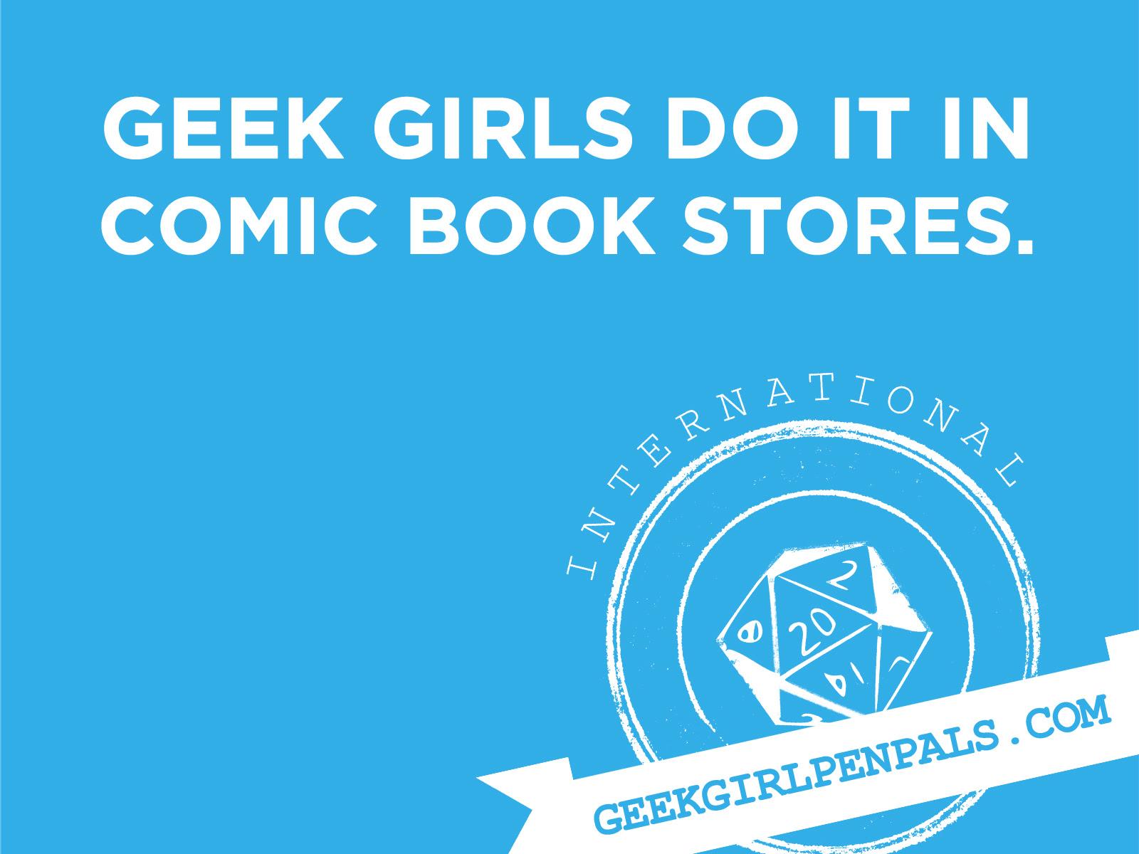 Geek Girls Penpals