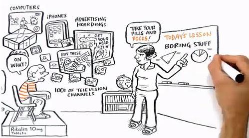 [Video] School Kills Creativity by Ken Robinson by stevegarfield