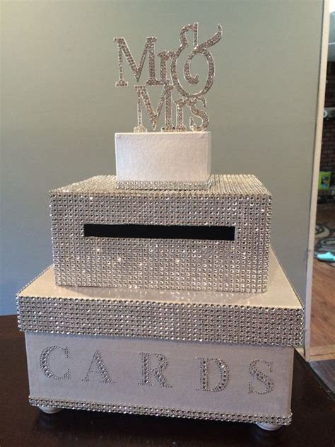 25  Best Ideas about Wedding Boxes on Pinterest   Silver