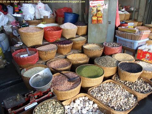 Markt op Bali