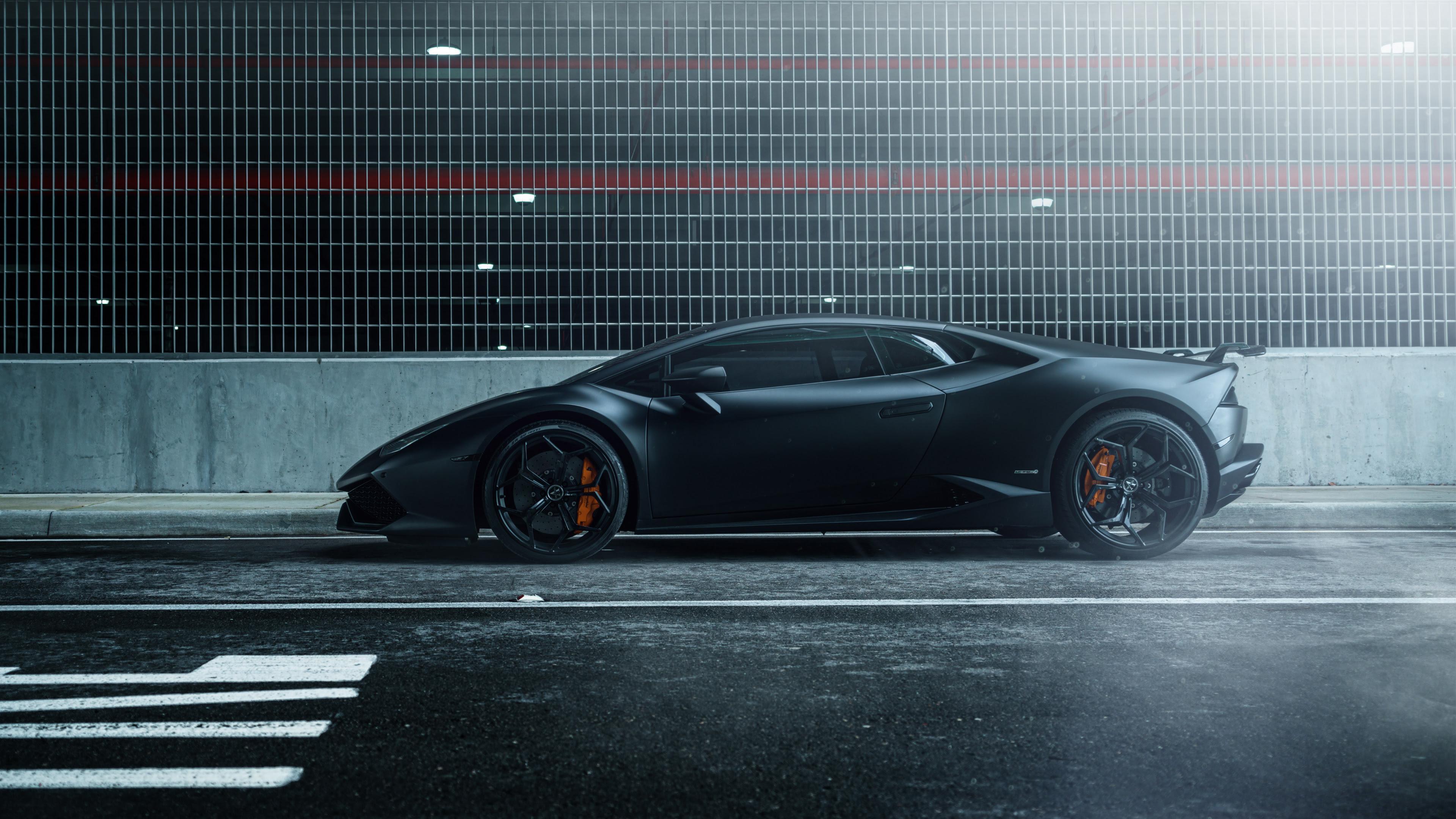 Lamborghini Huracan Vellano MC Matte Black 4K Wallpaper  HD Car Wallpapers  ID 6399