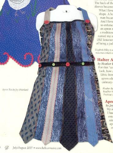 Necktie Apron by Joy Osterland