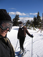 Lauren and I on the mountain at Copper