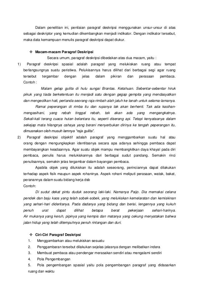 Contoh Paragraf Eksposisi Umum - Contoh Soal2