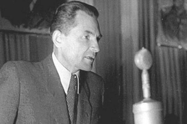 Stanisław Radkiewicz, szef Ministerstwa Bezpieczeństwa Publicznego w latach 1945–1954 (fot. domena publiczna).