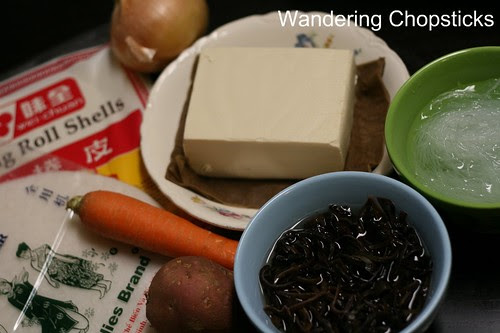 Cha Gio Chay (Vietnamese Vegetarian Egg Spring Rolls) 6