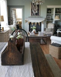 farmhouse table (color)