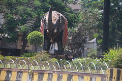 elephant is a bad word in uttar pradesh , but in mumbai he guards lord ganesha by firoze shakir photographerno1