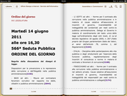 Scriba EPUB on iPad