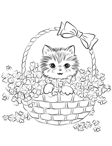 77 Top Coloring Pages Of Cute Kittens , Free HD Download