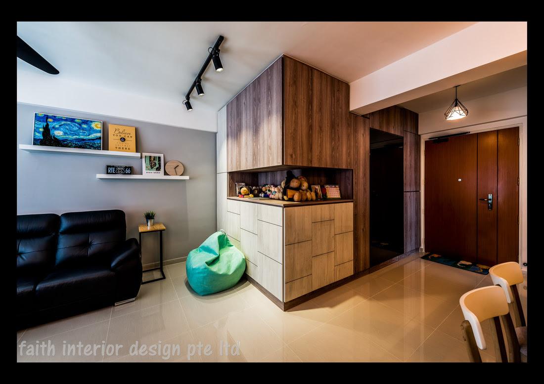 HDB Standard Flat Renovation - HDB home renovation ...