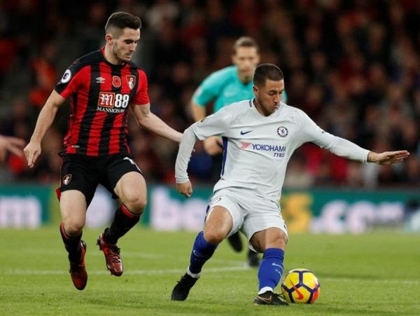 [Goal Highlight] AFC Bournemouth 0-1 Chelsea (Premier League) 2017/18