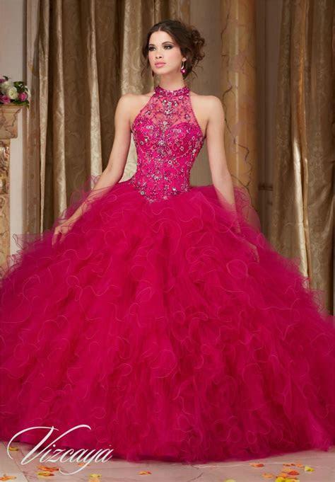 Cheap Royal Blue Hot Pink Quinceanera Dresses 2016 Ball