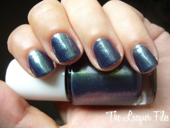 Franken Polish Frankening Blue Purple Duochrome Glitter Rockabilly Blues