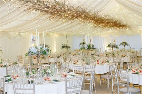 Wedding Canopy Hire & Deluxe 6M X 18M Wedding Marquee