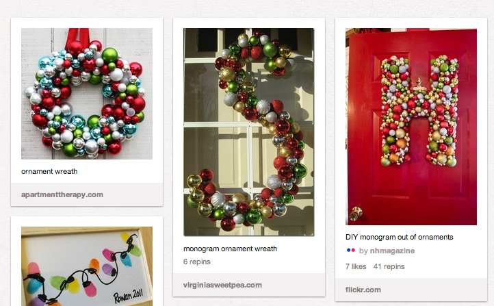 Christmas Decorations Diy Pinterest